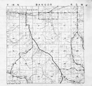 Bangor Township, Boswick, La Crosse County 1954
